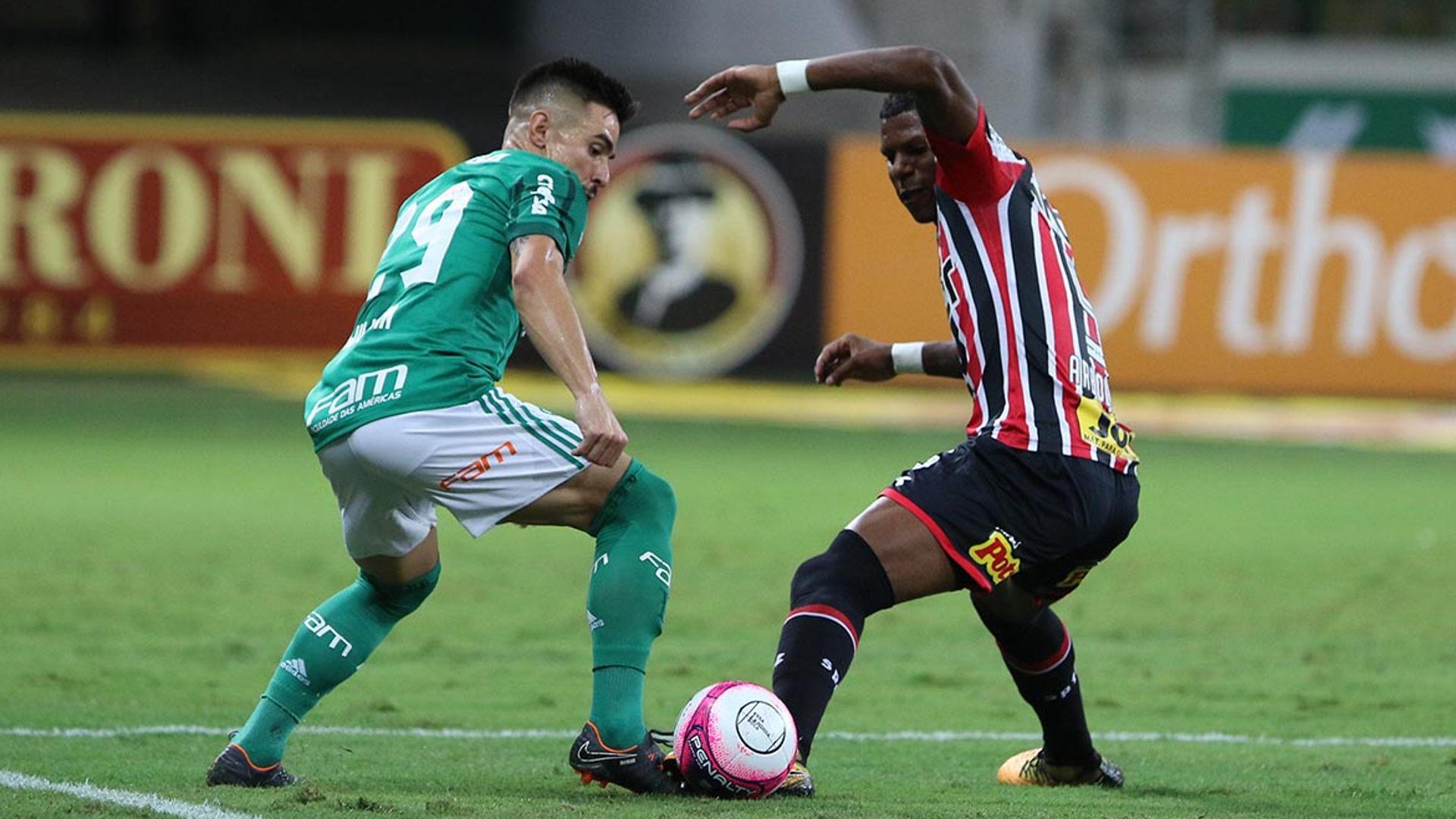 Willian Bigode Arboleda Palmeiras São Paulo 08032018 Paulista
