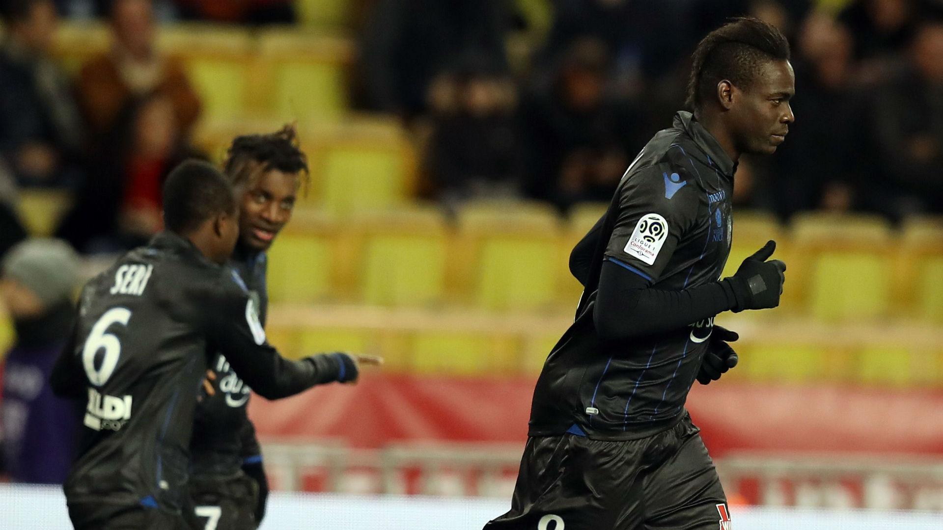 Mario Balotelli Monaco Nice Ligue 1 18012017