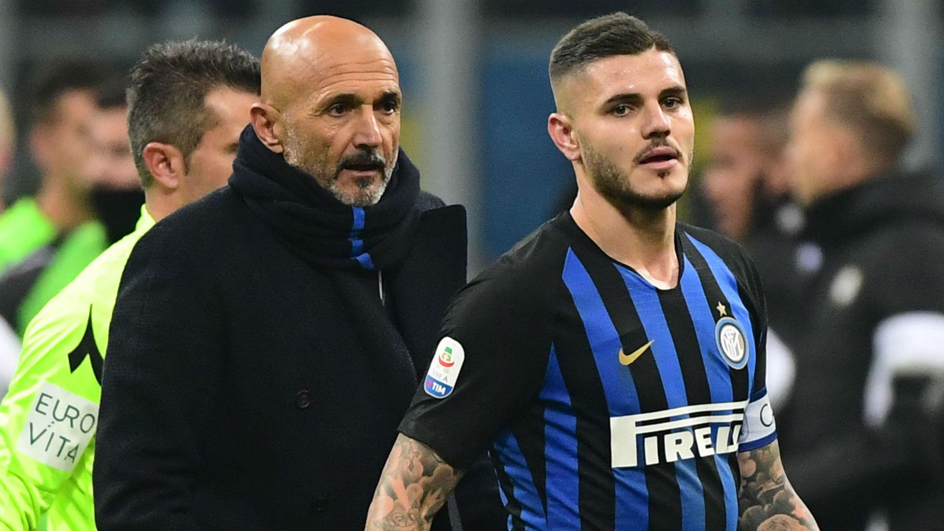 Icardi Spalletti Inter Serie A