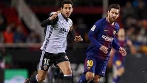 Parejo Messi Valencia Barcelona Copa del Rey