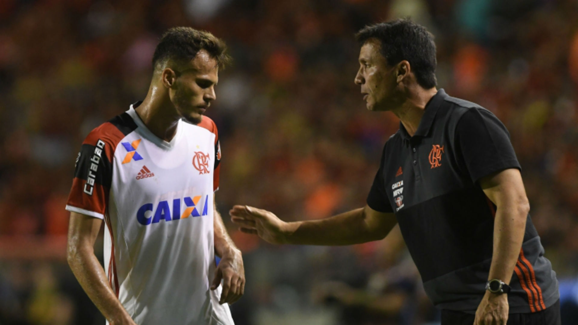 Zé Ricardo Flamengo 07 06 2017