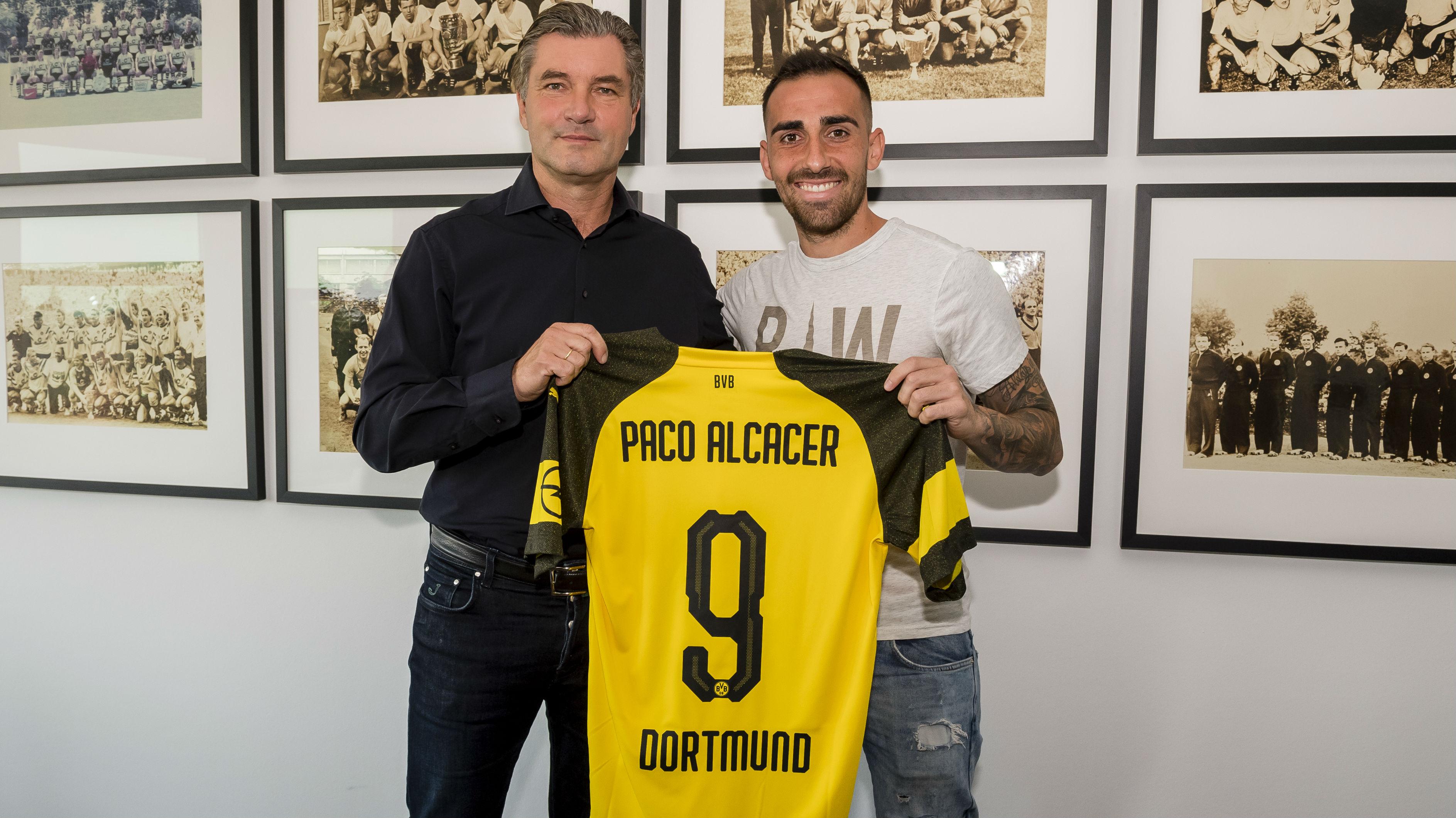 Paco Alcacer, Borussia Dortmund