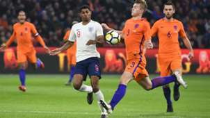 Marcus Rashford England Matthijs De Ligt Netherlands