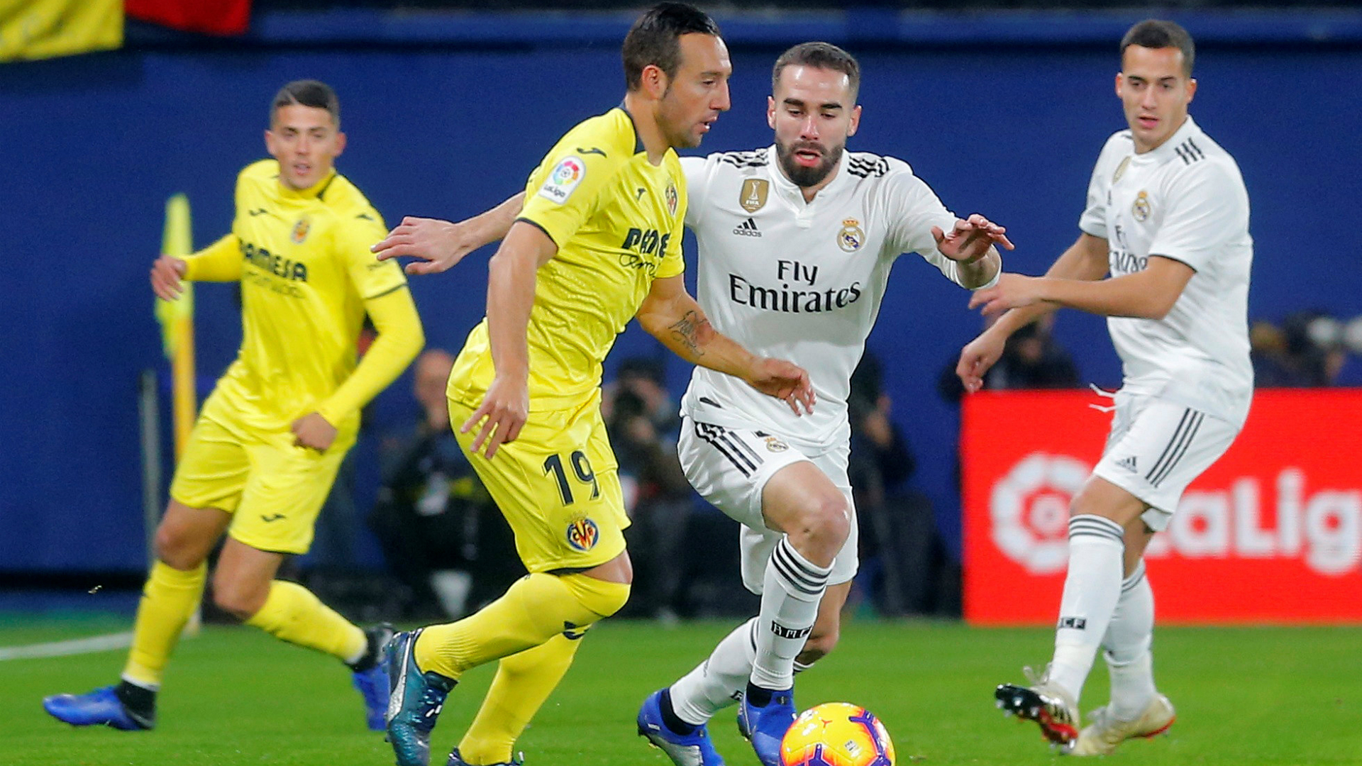 International : Liga : Le Real Madrid stoppé net par Villarreal