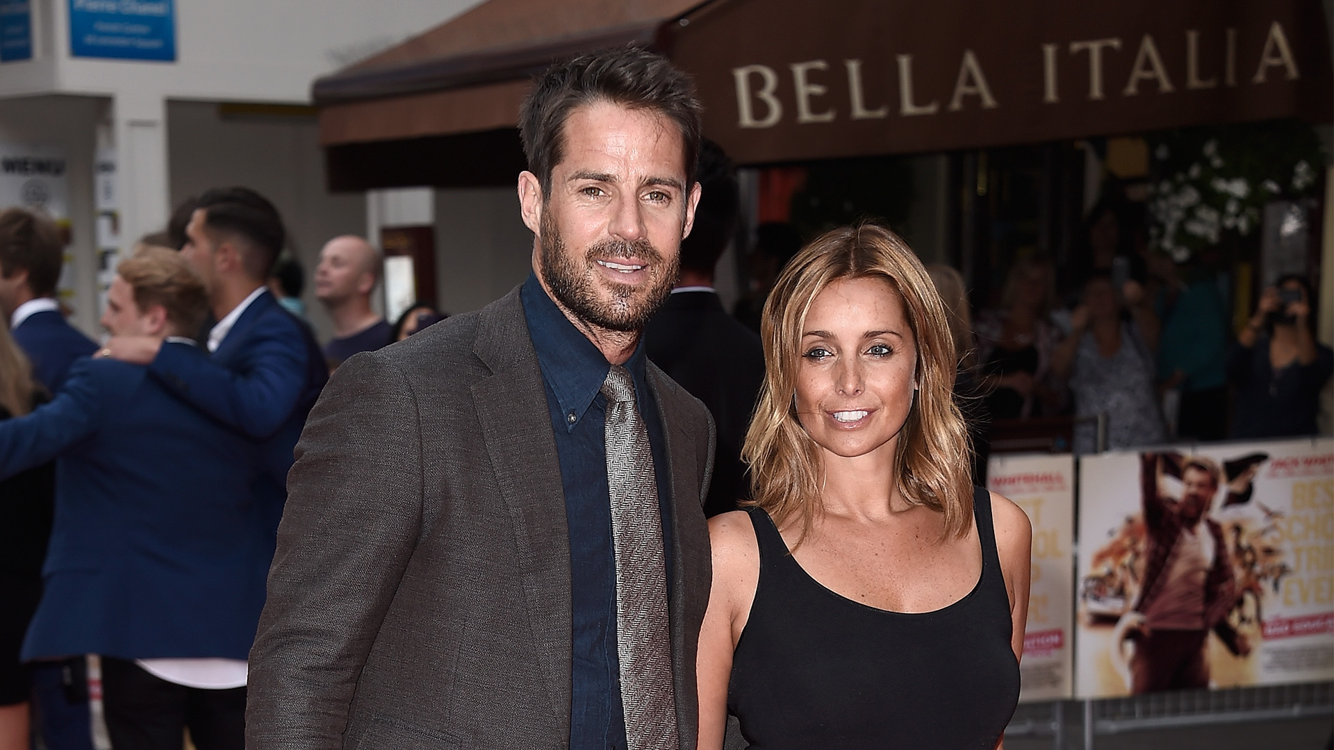Jamie Redknapp and Louise Redknapp 2015