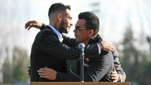 Mauricio Pinilla y Esteban Paredes ANFP 240817