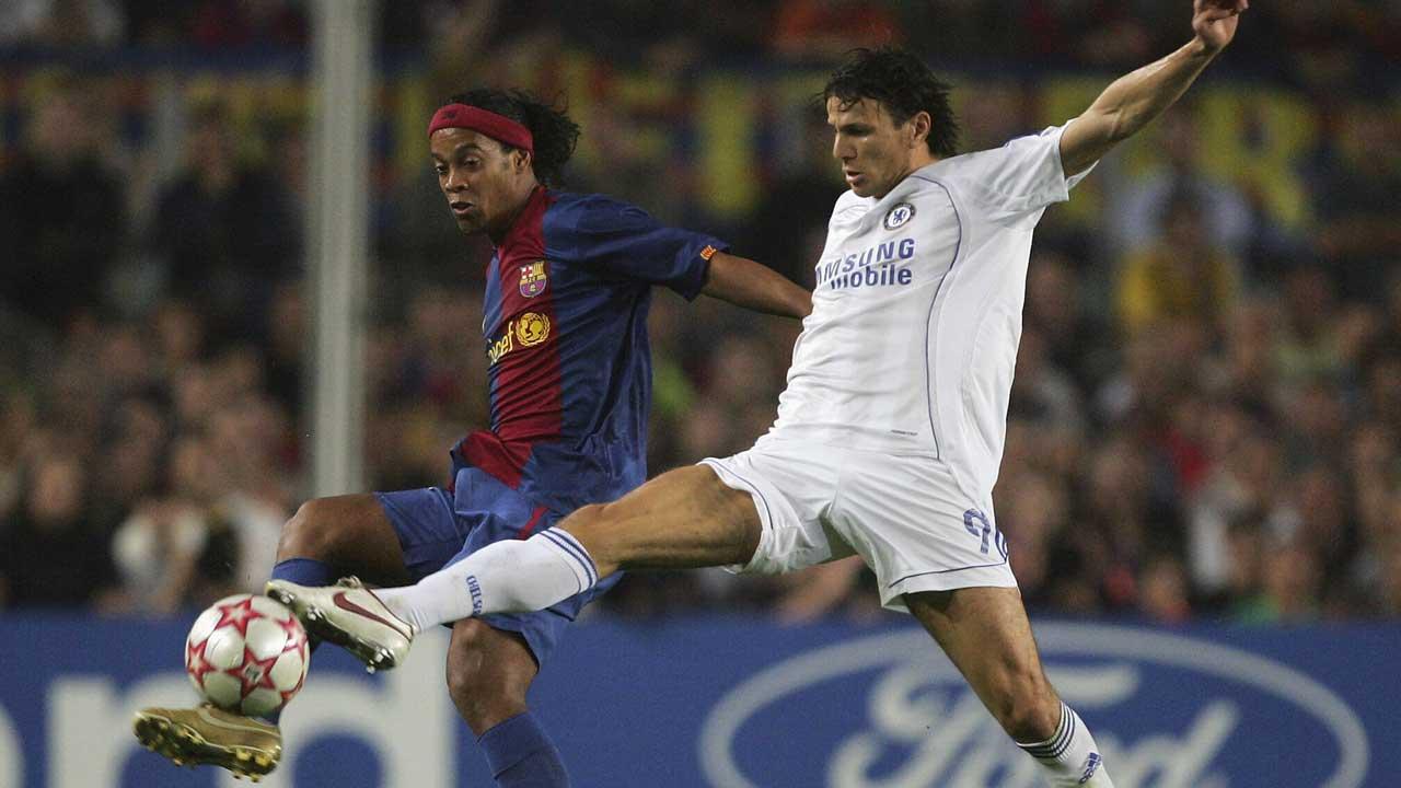 Khalid Boulahrouz and Ronaldinho