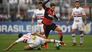 Hernanes Diego São Paulo Flamengo Brasileirão 29 10 2017