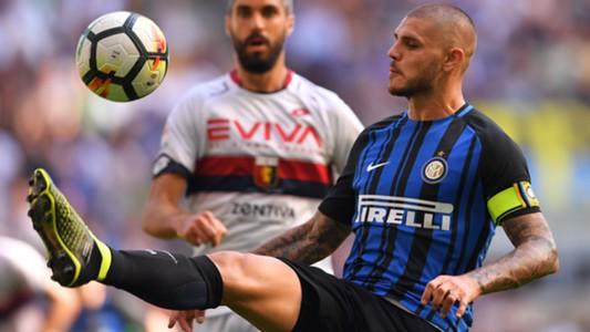 Mauro Icardi Inter Genoa Serie A