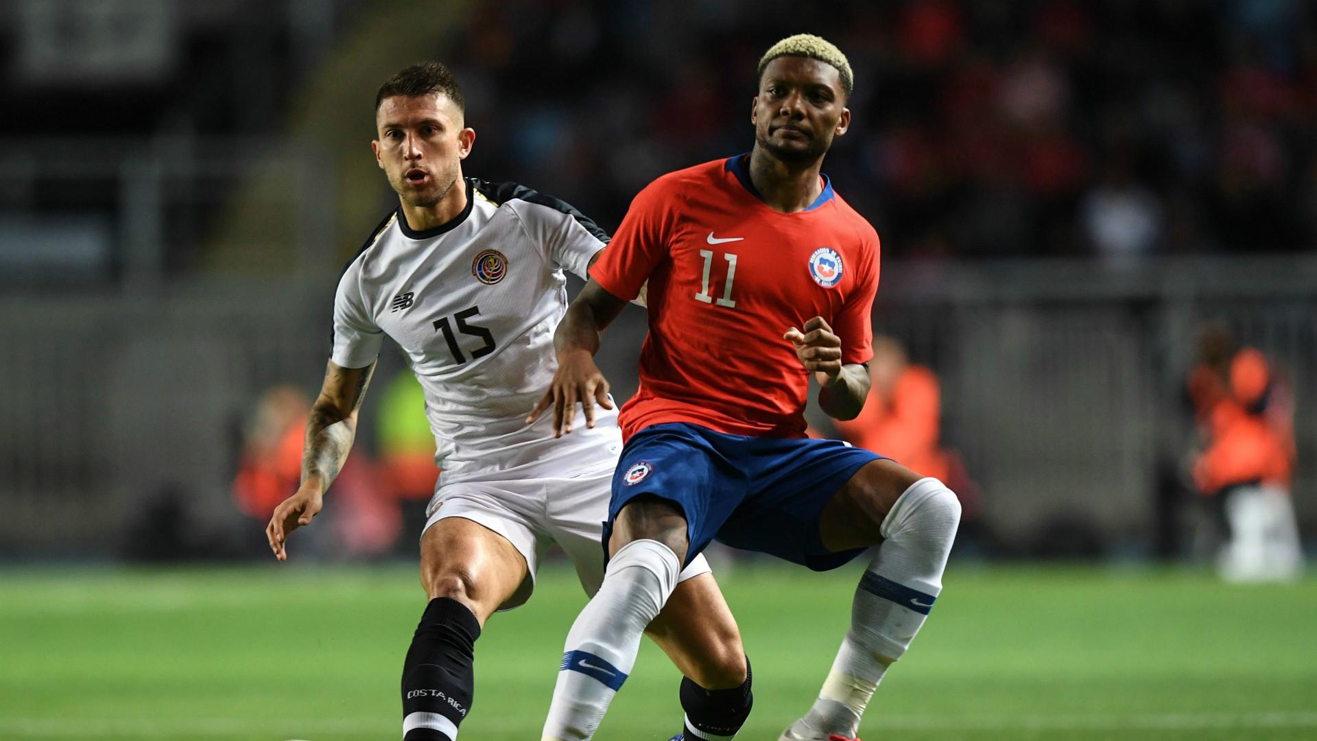 Junior Fernandez Calvo Chile Costa Rica Amistoso Internacional Fecha FIFA 16112018