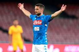 Dries Mertens -- Napoli vs Roma 28-10-18
