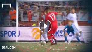GFX Highlights Nations League Türkei Russland