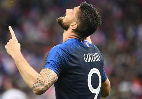 France-Pérou : les 2 options de Deschamps avec Giroud et Matuidi