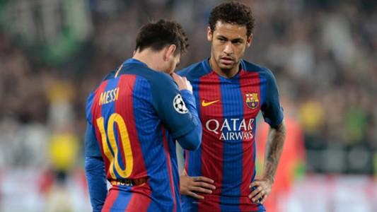 Messi Neymar Juventus Barcellona Champions League