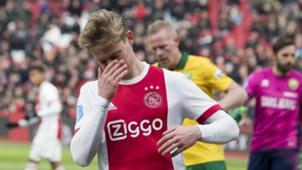 Frenkie de Jong, Ajax - ADO, Eredivisie 02252018