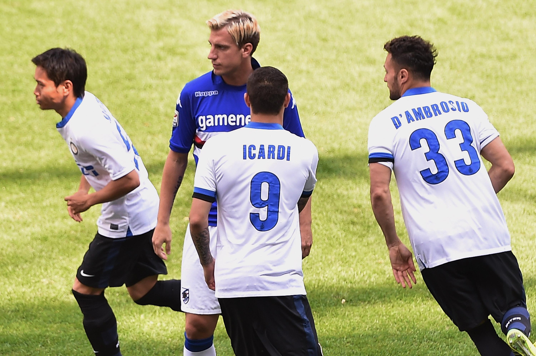 Maxi López y Mauro Icardi