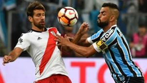 Ponzio Maicon Gremio River Copa Libertadores 30102018