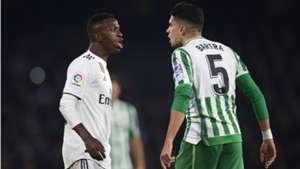 Marc Bartra Vinicius Junior Betis Real Madrid 2018-19