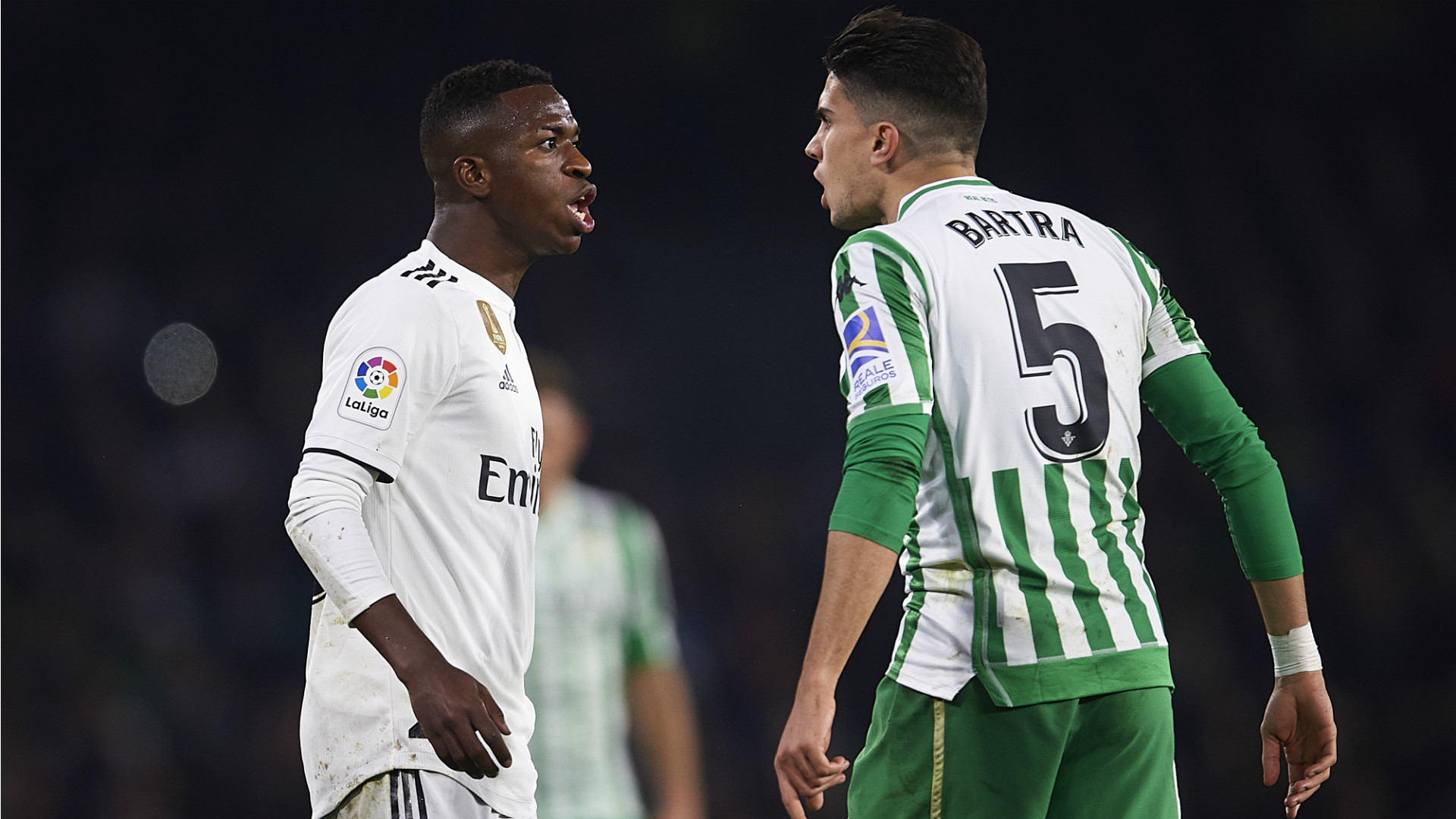 Marc Bartra Vinicius Junior Betis Real Madrid 2018-19