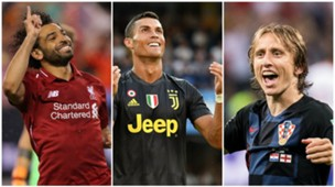 UEFA Player of the Year Collage