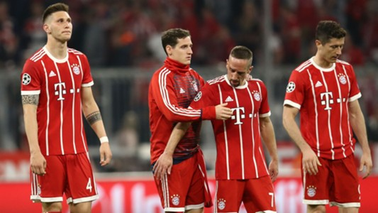 Franck Ribery Robert Lewandowski Niklas Sule Bayen Munich Real Madrid Champions League