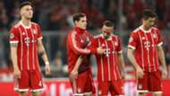 Franck Ribery Robert Lewandowski Niklas Sule Bayen Munich Real Madrid Champions League