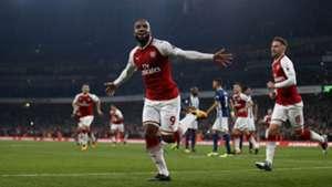 Alexandre Lacazette, Arsenal - West Brom, Premier League, 09252017