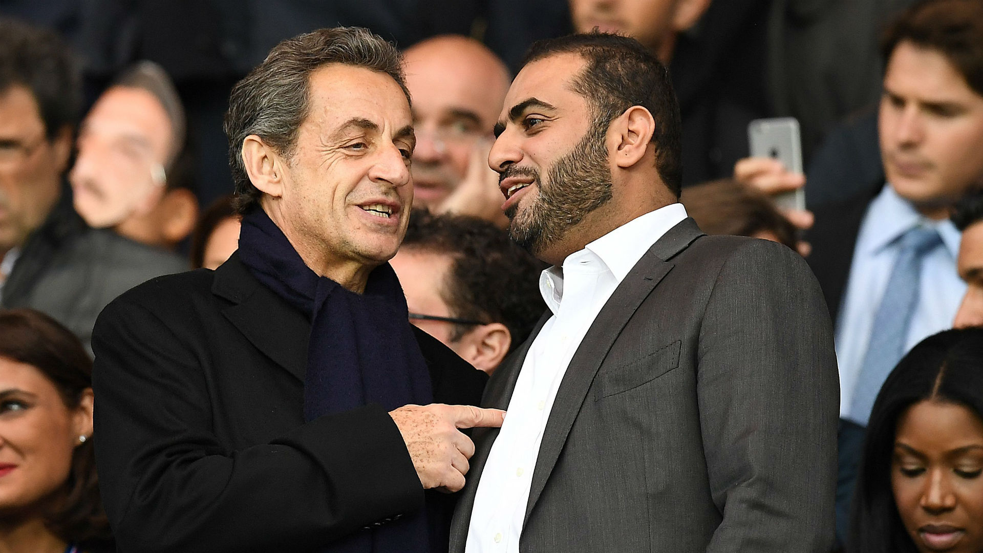 Nicolas Sarkozy Yousef al Obaidly