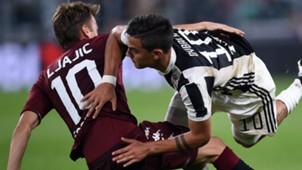 Ljajic Dybala Juventus Torino Serie A