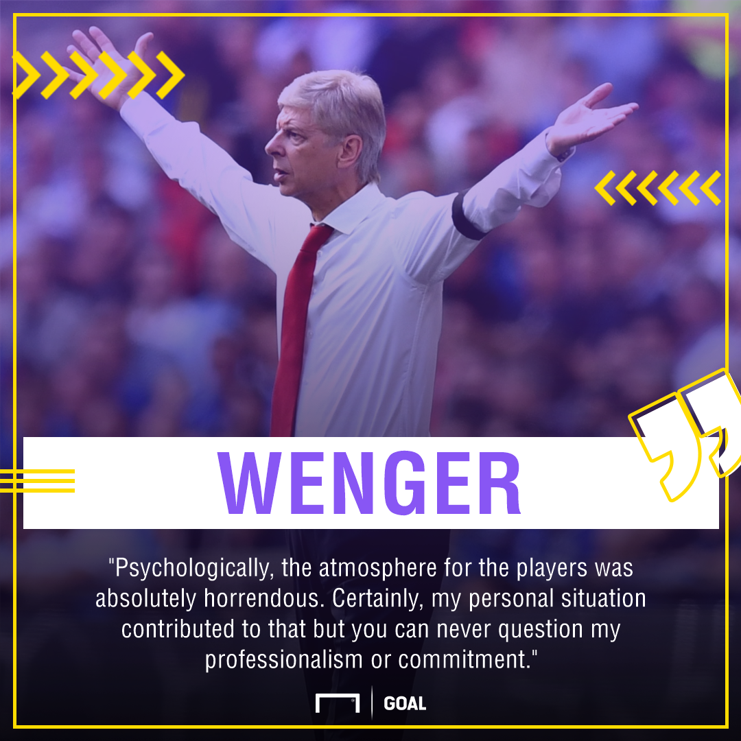 Arsene Wenger Arsenal PS