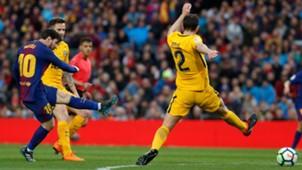 Lionel Messi Godin Barcelona Atletico LaLiga