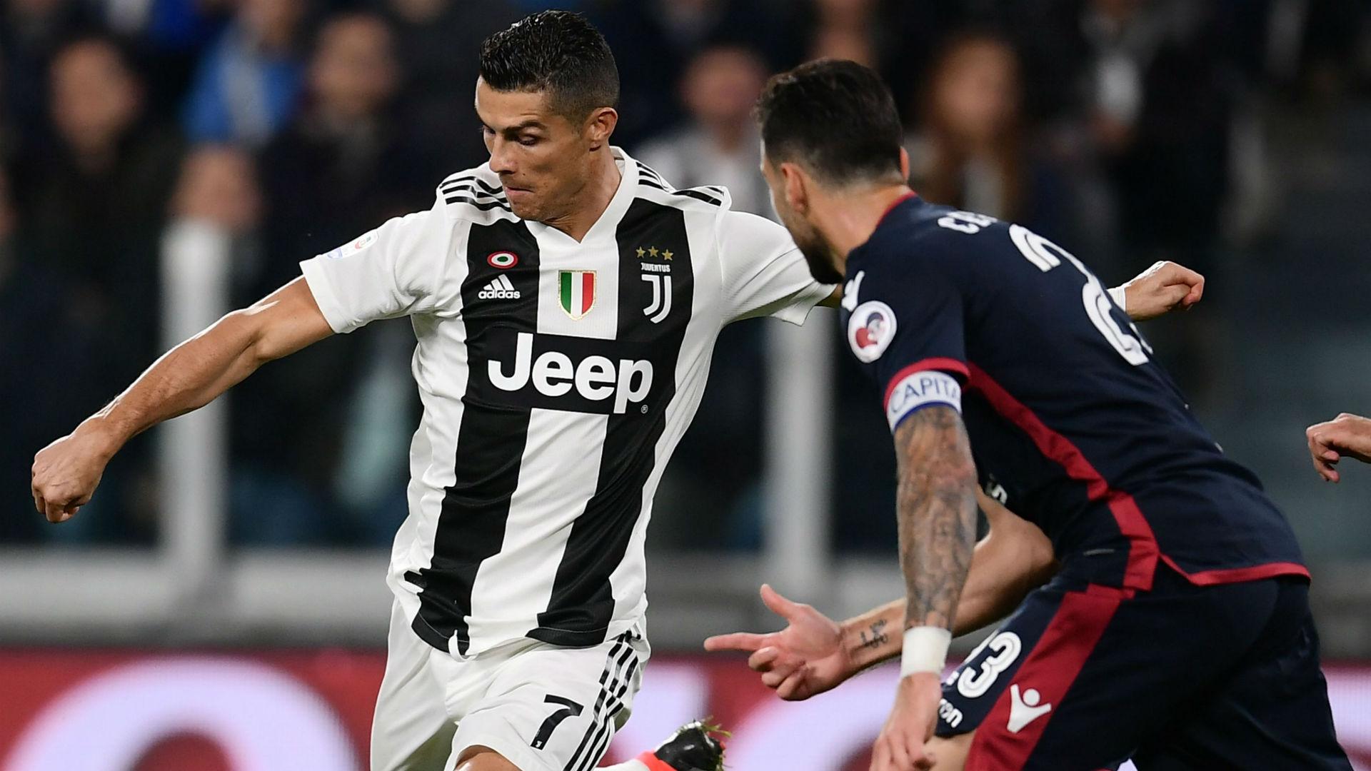 Cristiano Ronaldo Juventus Cagliari Serie A