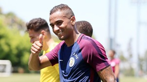 Danilo Luiz Manchester City training 07242017