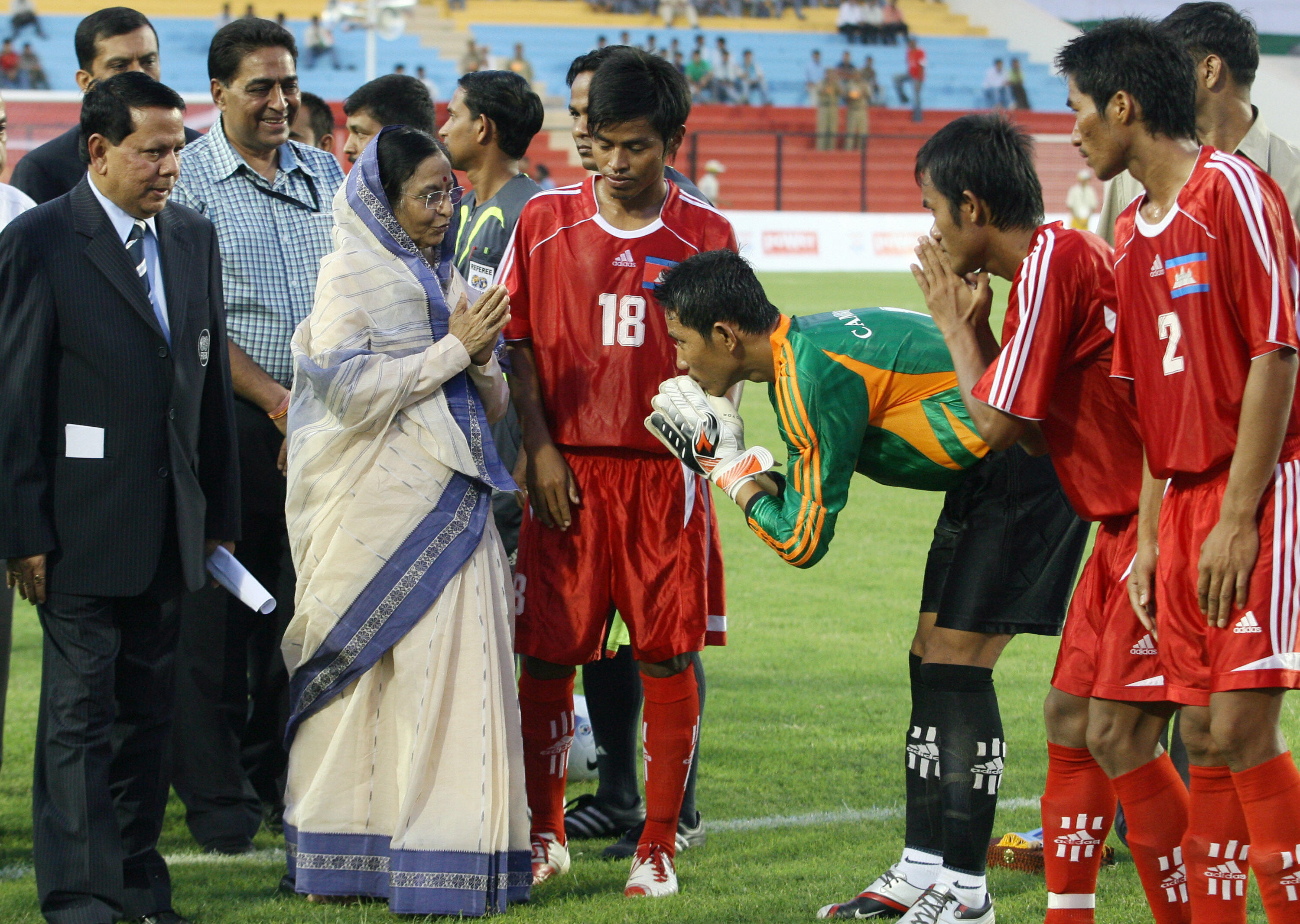 India vs Cambodia Nehru Cup 2007