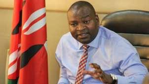 Sports Minister Rashid Echesa.
