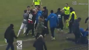 Screenshot Kopfstoß-Skandal Serie C