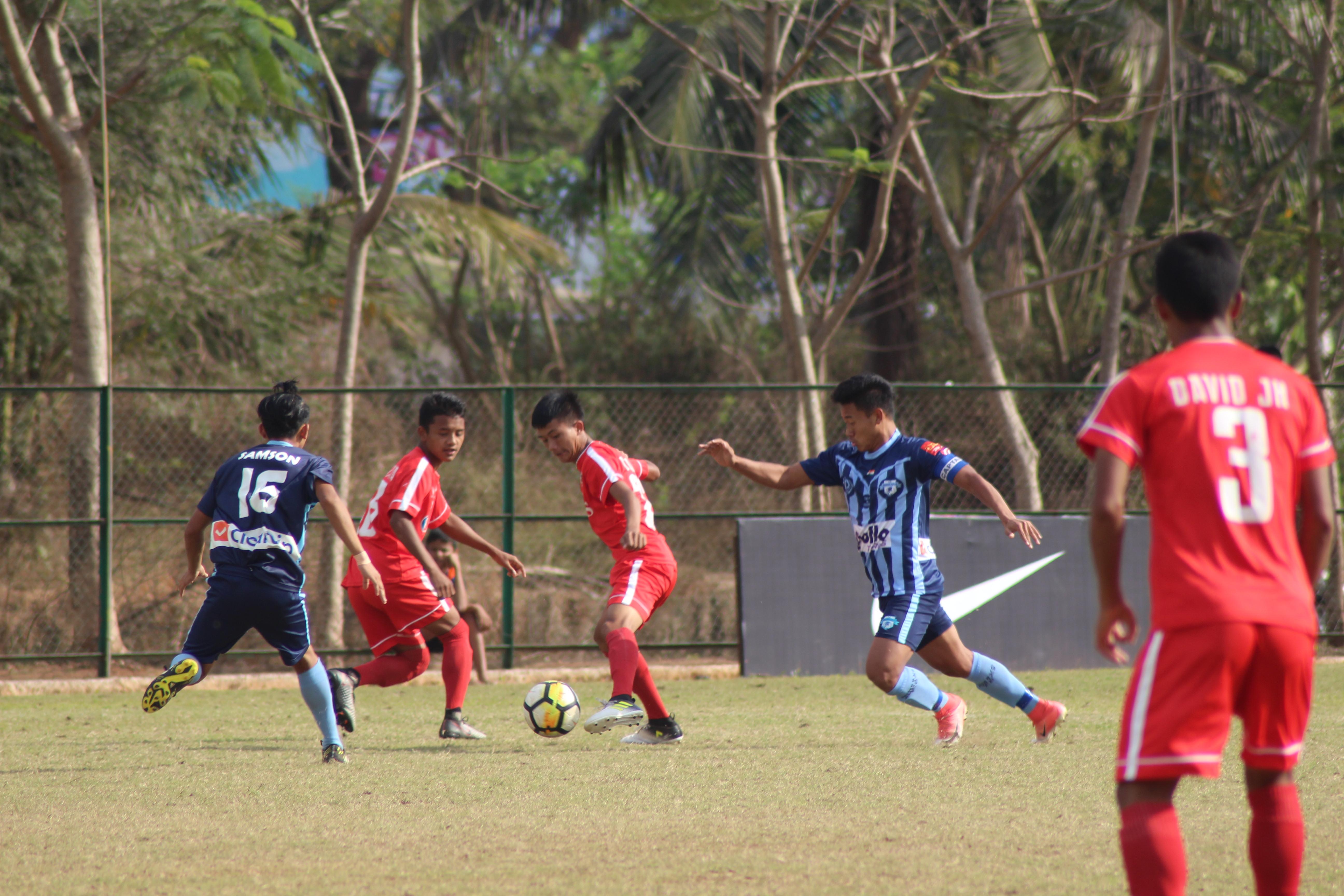Nike Premier Cup; Minerva Punjab v Aizawl FC