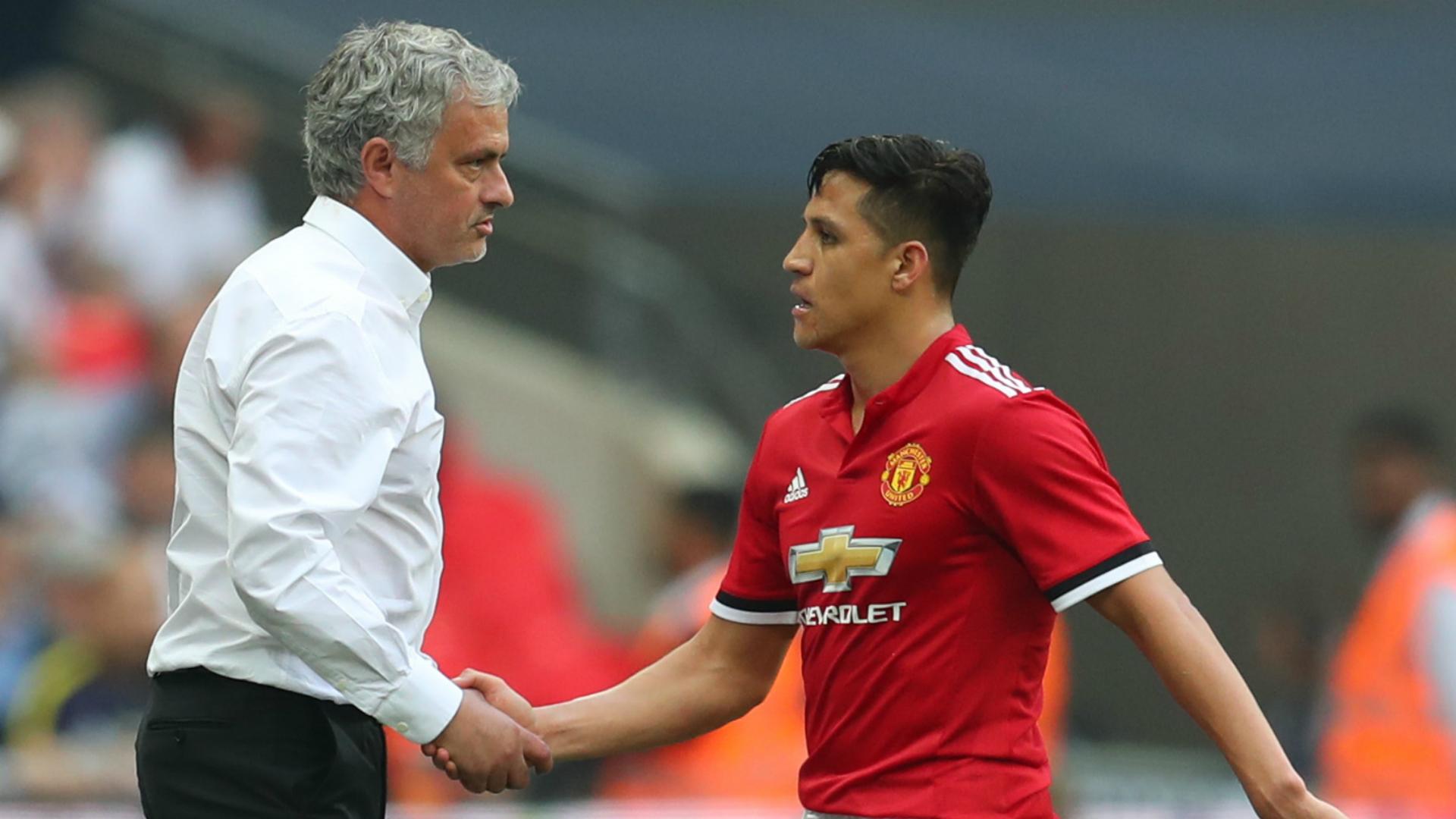 Jose Mourinho Alexis Sanchez Manchester United