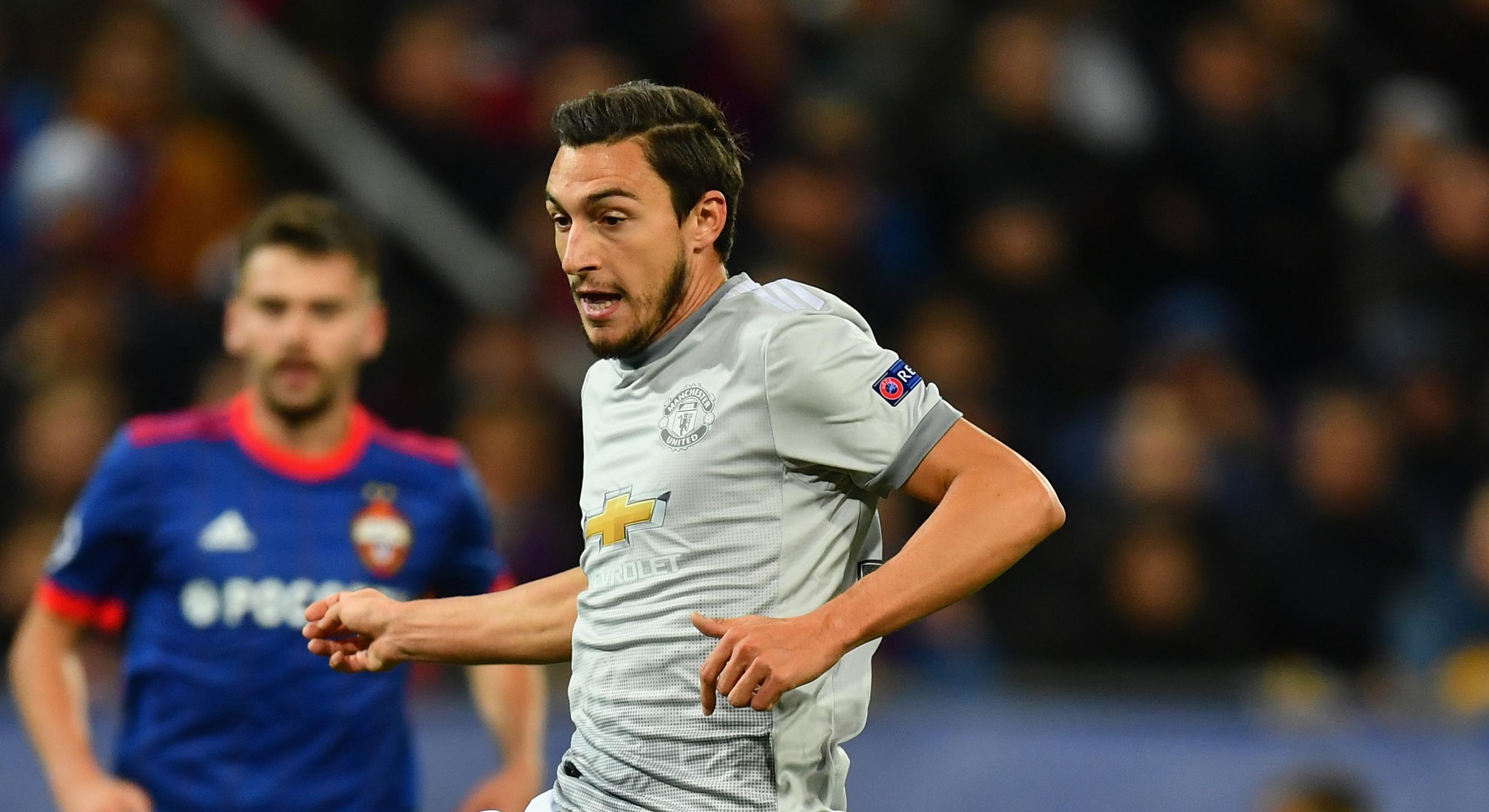 Matteo Darmian Manchester United  CSKA Moscow