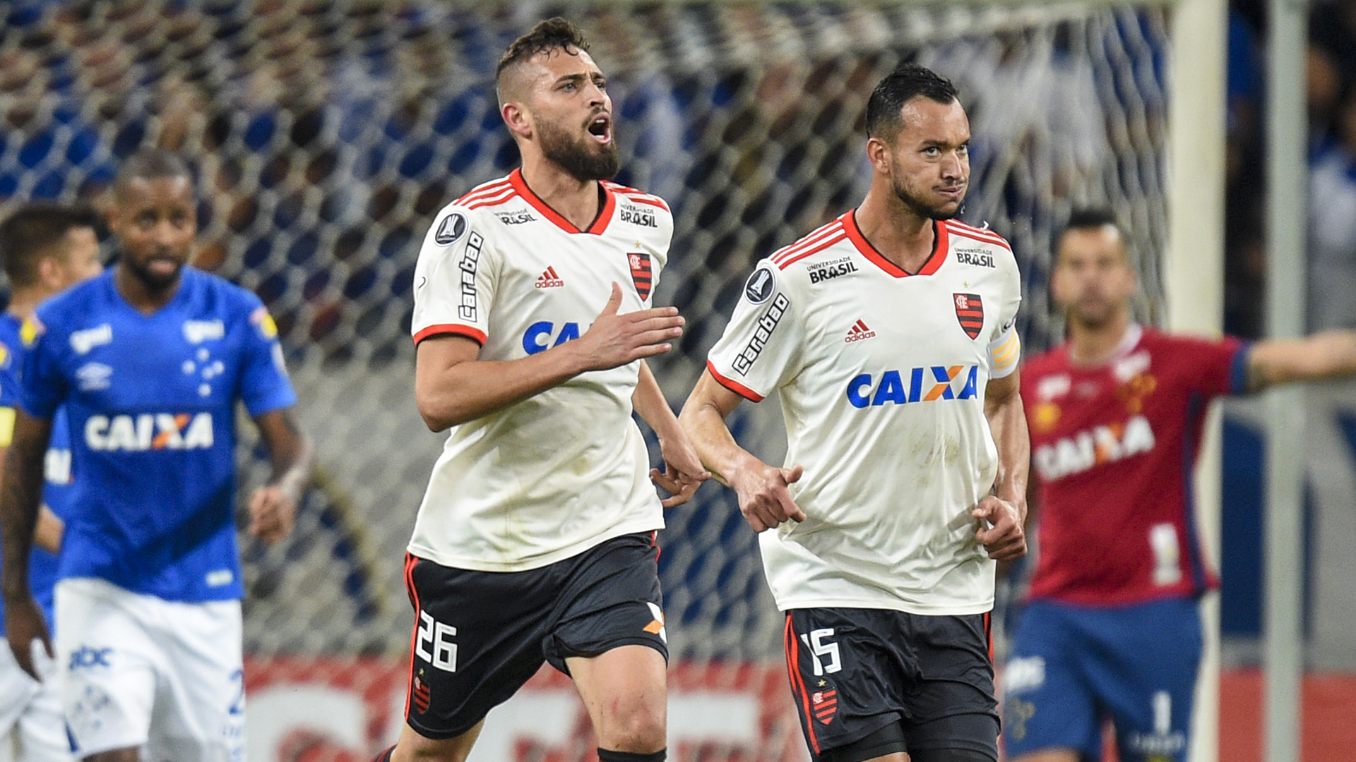 Leo Duarte Rever Cruzeiro Flamengo Copa Libertadores 29082018