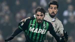 Sassuolo Manuel Locatelli Juventus Sami Khedira