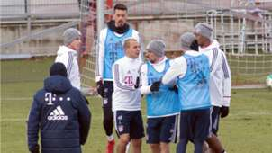 Pelea James Rudy Bayern Munich