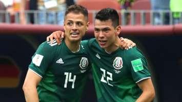 Hirving Lozano Javier Hernandez Germany Mexico World Cup 2018 170618