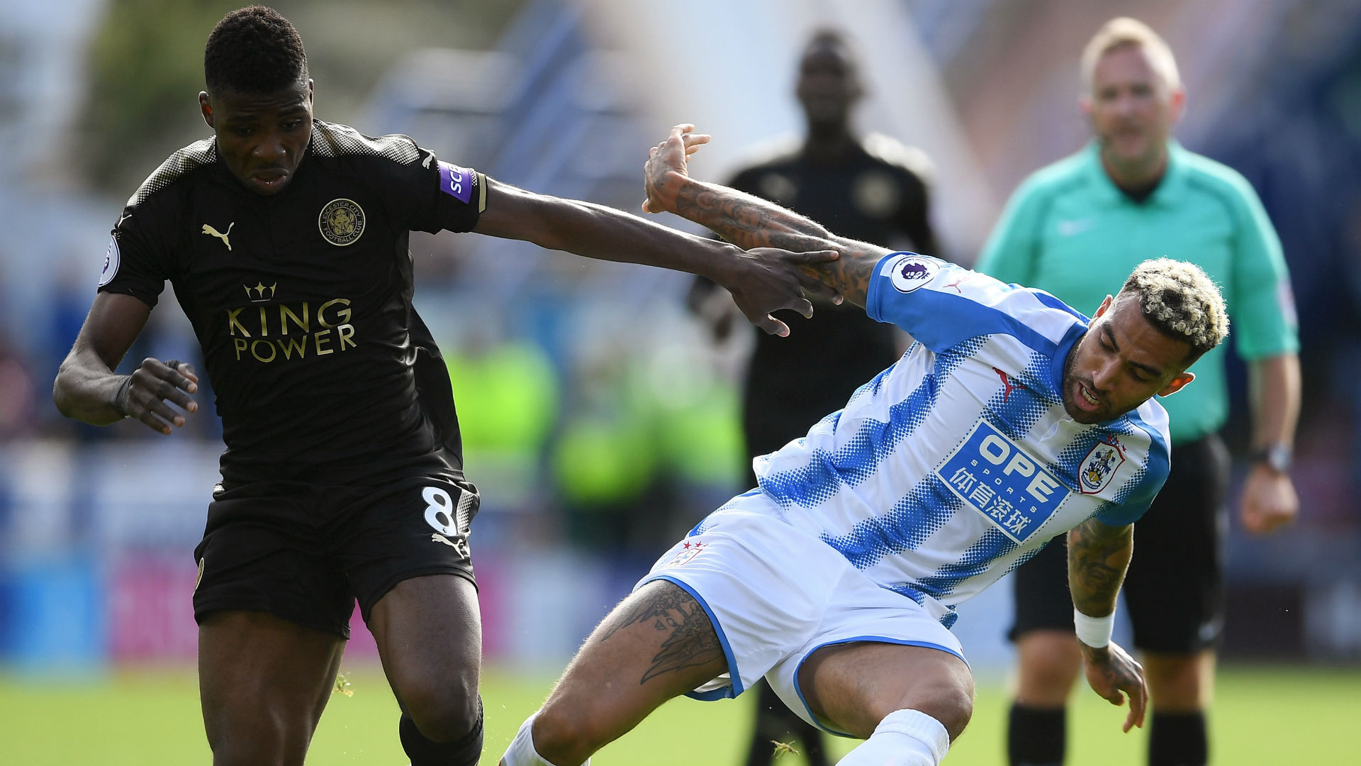 Kelechi Iheanacho Danny Williams Leicester Huddersfield