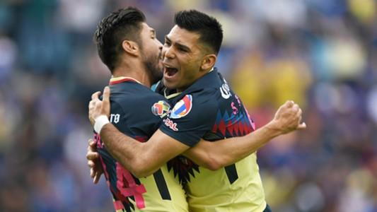 Oribe Peralta Silvio Romero Club America