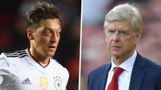 Mesut Ozil Arsene Wenger
