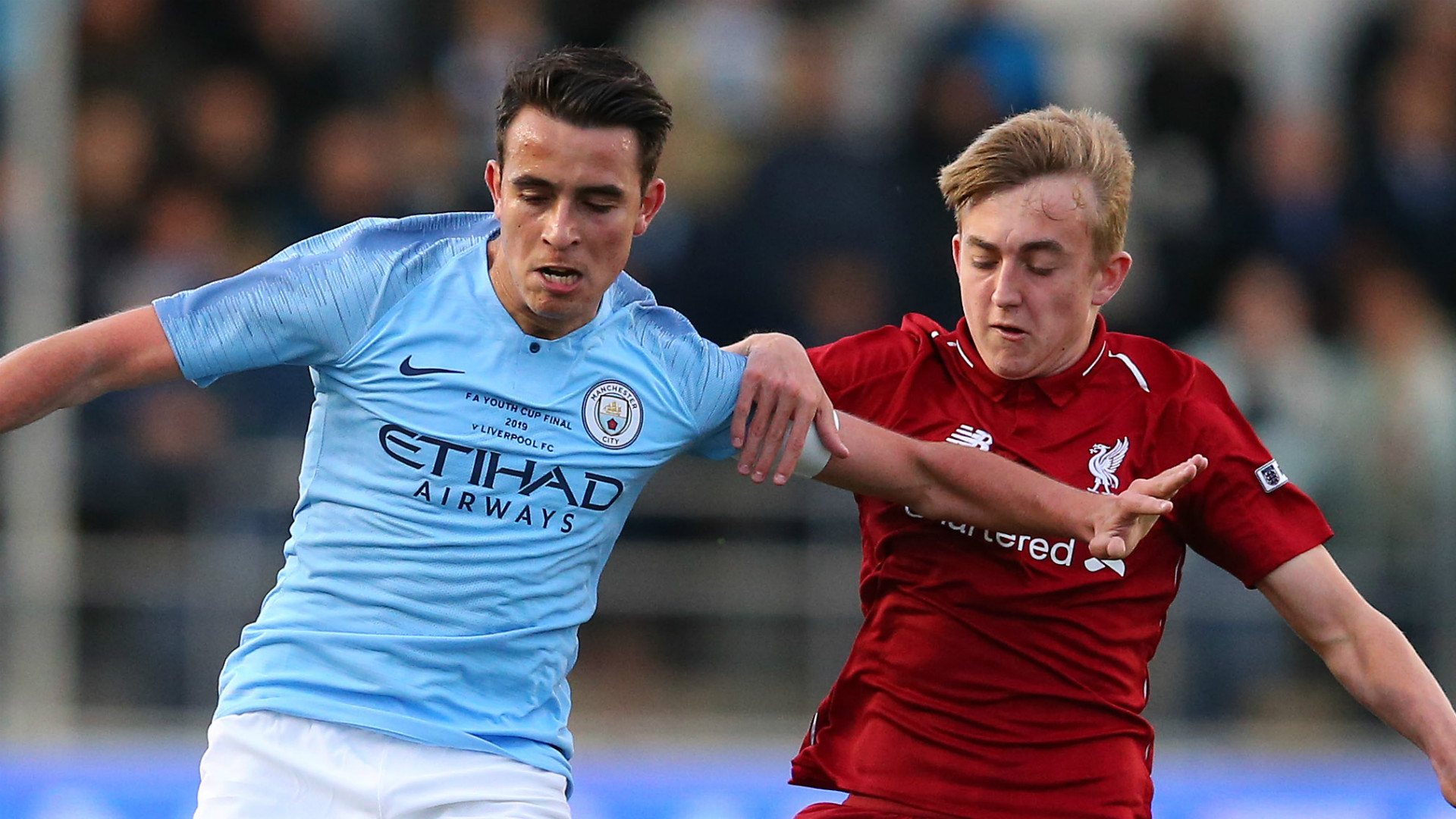 Eric Garcia Manchester City FA Youth Cup final 2018-19