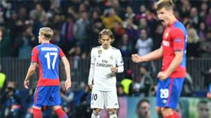 Luka Modric CSKA Moscow Real Madrid Champions League 021018