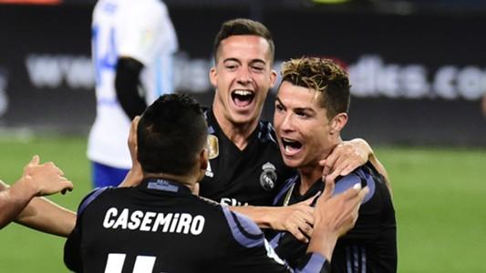 Ronaldo Casemiro Real Madrid