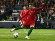 Cirstiano Ronaldo No Look Pass Portugal Schweiz